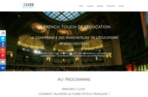 création du site web french tech education